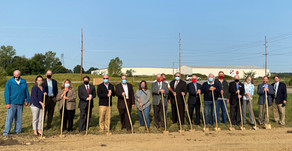 County and City Officials Celebrate Groundbreaking of New Manufacturing Center
