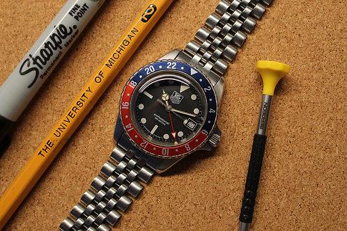 Tag Heuer 1000 Quartz GMT With Original Jubilee Bracelet