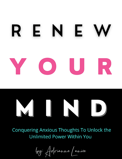 Renew Your Mind Guided Journal