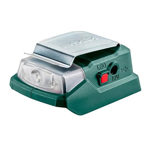 Adaptador power a batería POWERMAXX PA 12 LED-USB