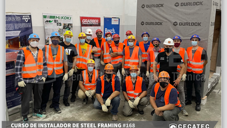 Instalador de Steel framing #168