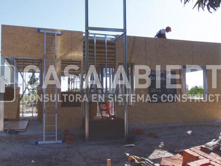 2013 | Construcción de vivienda en Steel Framing