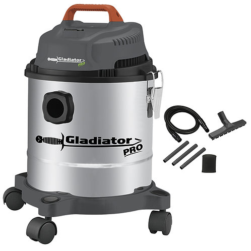 Aspiradora seco-humedo 15L 1200W Gladiator