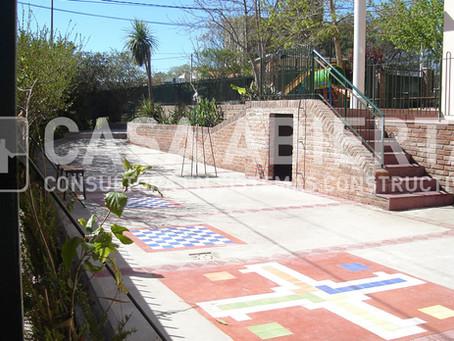 2006   Reforma en planta baja y exteriores. Colegio Horacio Quiroga