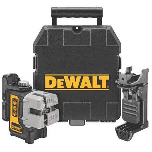 Nivel láser DeWalt autonivelante 60 m 3 líneas