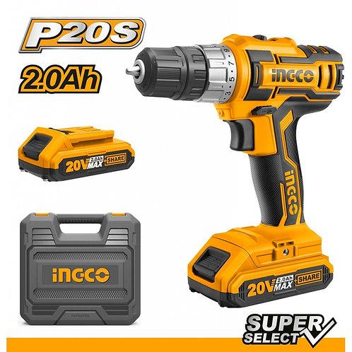 Atornillador 20V P20S SUPER SELECT INGCO