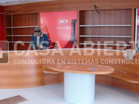 2008   Reforma de local. Soho Pinturas. Gabriel Pereira y Domingo Tamburini