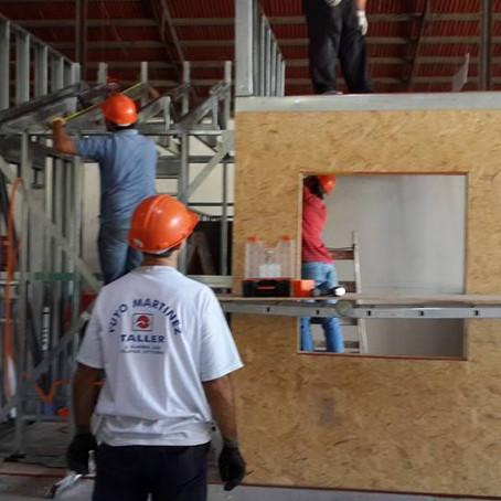 Instalador de Steel framing #20, Salto. Inicio 20.10.2014. Fin 24.10.2014