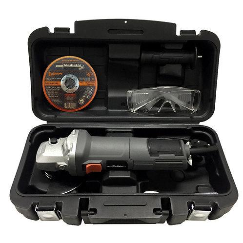 """Amoladora angular 4½"""" - 800W en Kit Gladiator"""