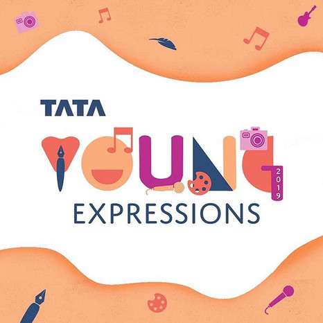 Logo re-design for Tata Young Expression