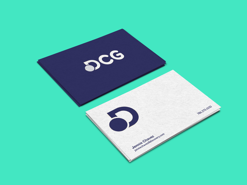 Discovery Creative Group Brand Identity