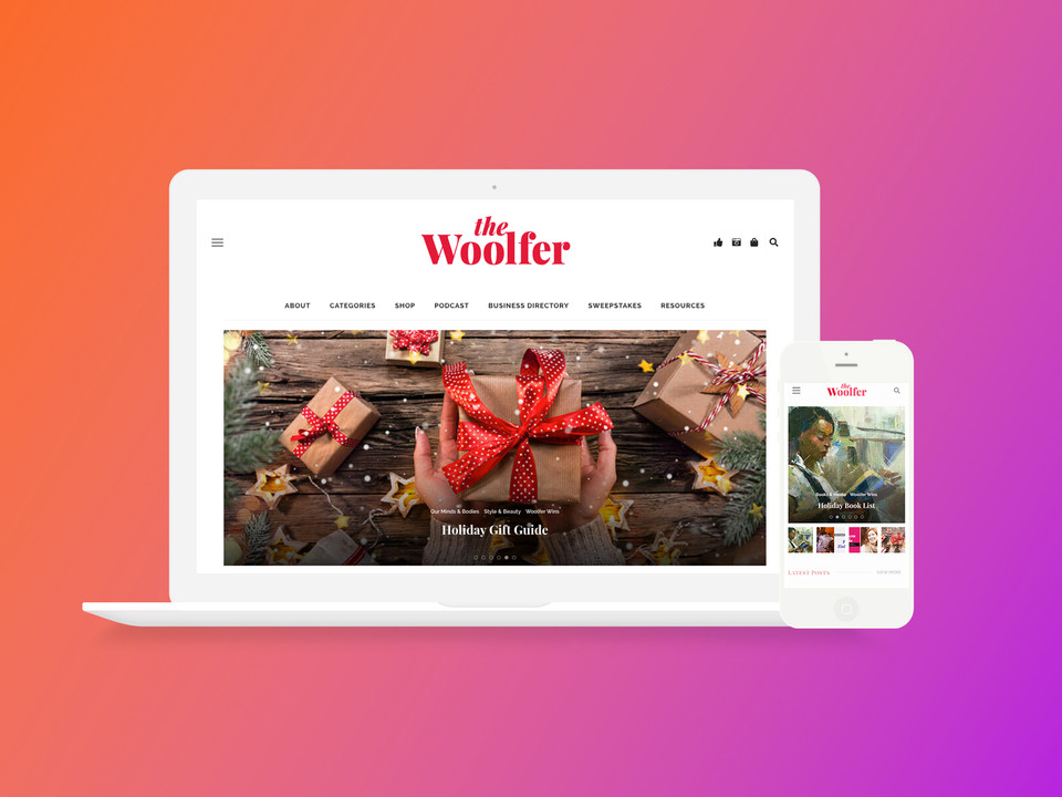 The Woolfer Site & Branding