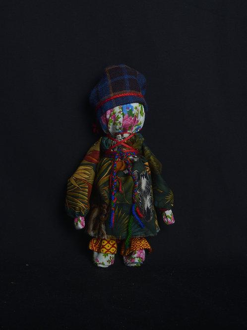 """""""SEMIK and SEMICHIHA"""" (paired dolls)"""