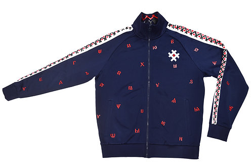 Bukvitsa Track Jacket Navy Blue