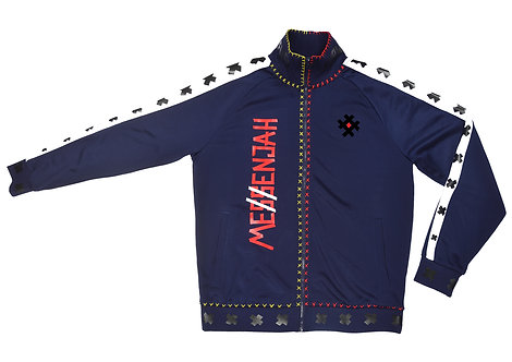 Me$$enjah Track Jacket Navy Blue