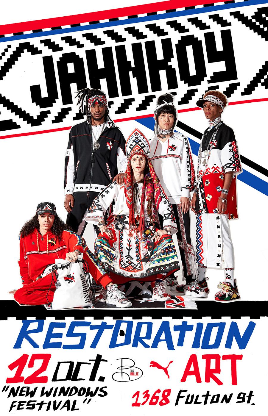 JAHNKOY x RestorationARTS event1