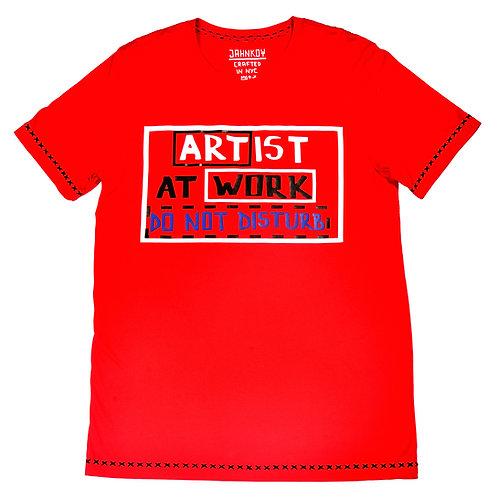 Artist at Work Tshirt