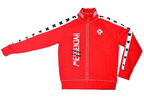 Me$$enjah Track Jacket Red