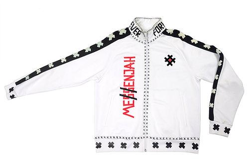 Me$enjah Track Jacket White