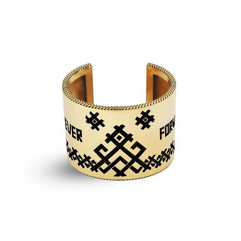Bereginya Cuff Bracelet Gold