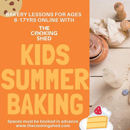 Children's summer bakery lessons - online