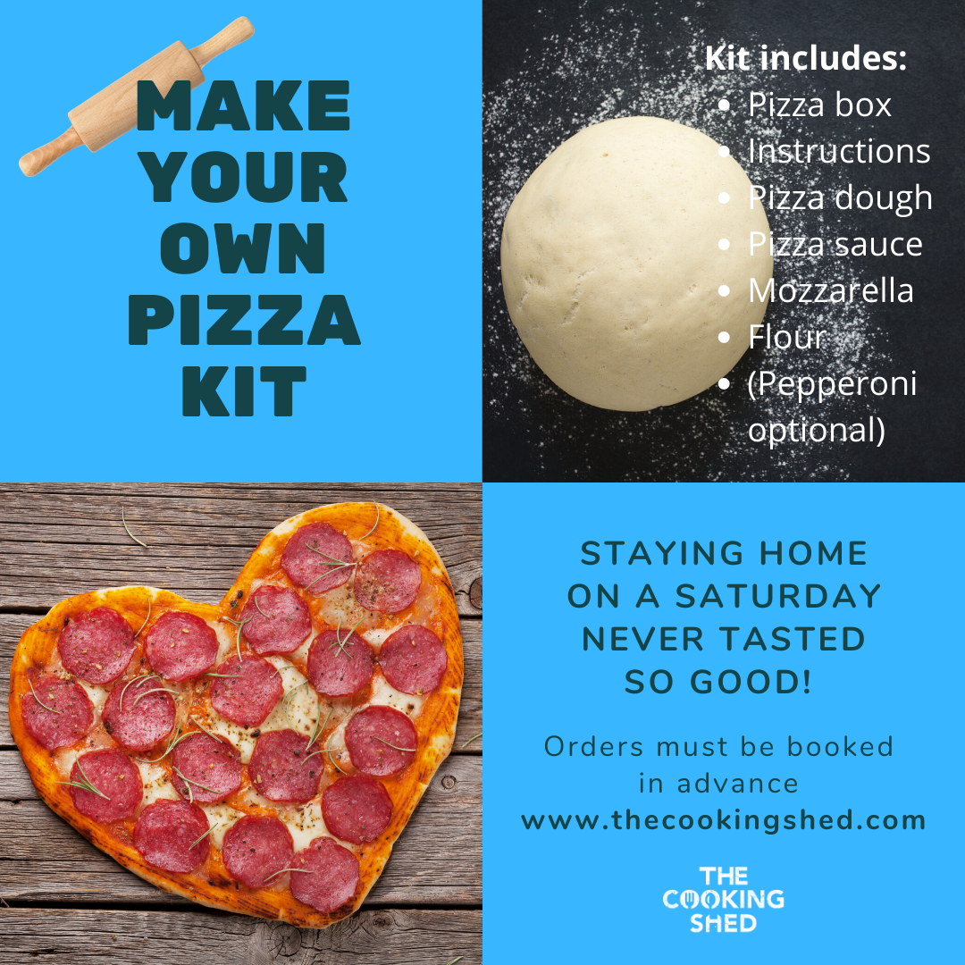 Make your own pizza kit delivery