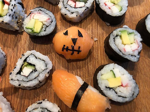 Halloween half term sushi class - adult & child