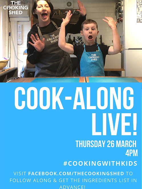 Cook-along live contribution