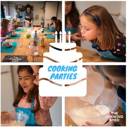 Cooking Birthday parties at the shed