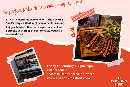 Valentines  steak class for couples