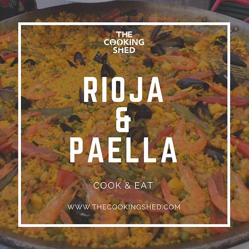 Private class - Rioja & paella