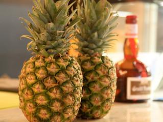 Pineapple tart tatin