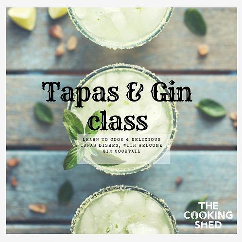 Private tapas class