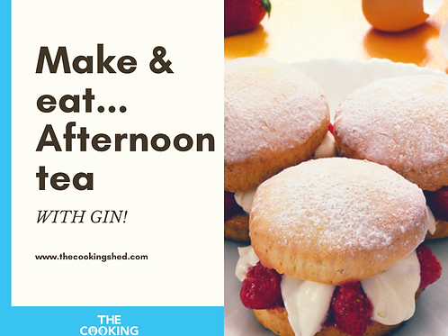 Make & eat your own 'Afternoon tea'