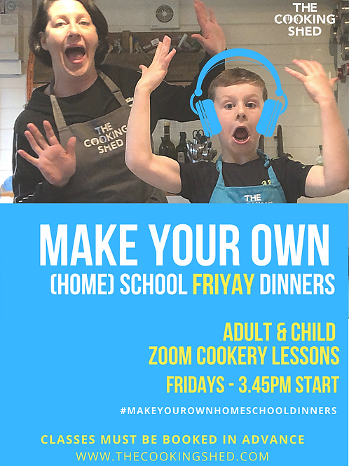 Adult & Child 'make your own home-school dinners'