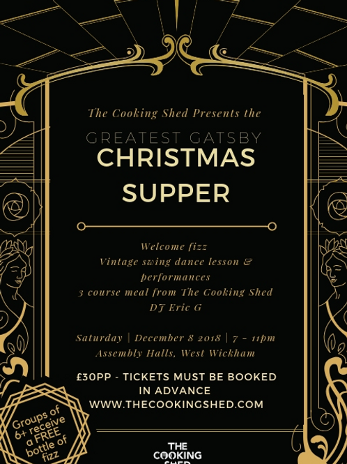 2 x The Cooking Shed's GREAT Christmas supper