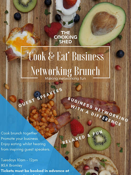 Business networking 'cook & eat' brunch