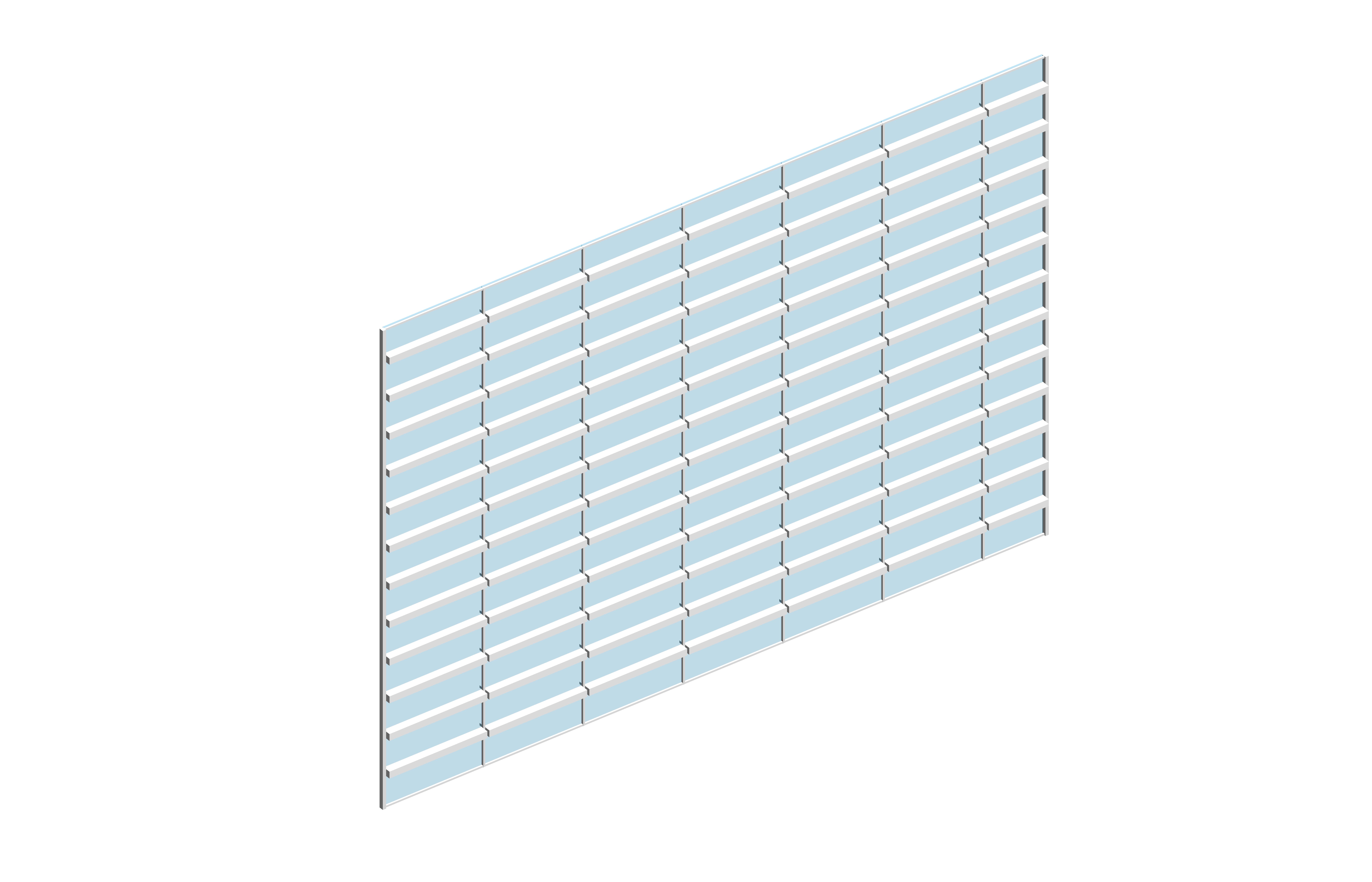 563 m2 Curtin Wall