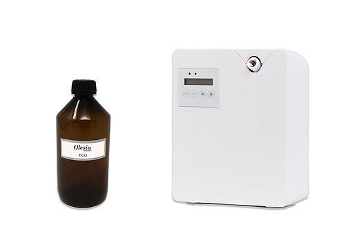 kit Difusor para nebulización + perfume Ekya para nebulización