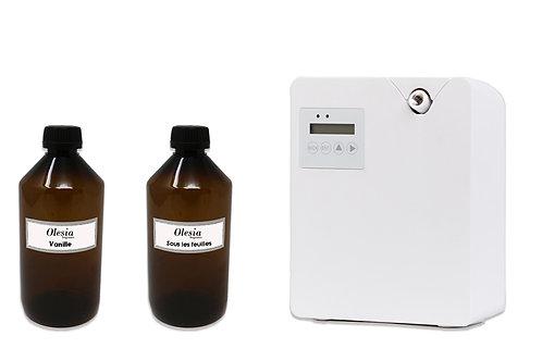 Difusor de fragancia para nebulizacion Weele y perfume Verbena y Vainilla