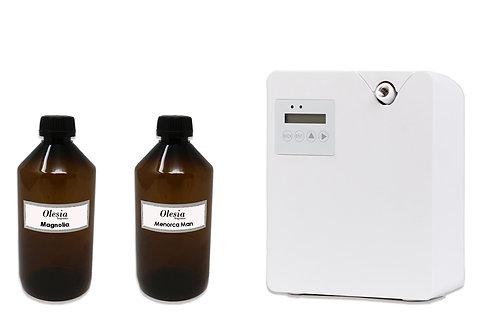 Difusor de fragancia para nebulizacion Weele y perfume Magnolia y Megaride
