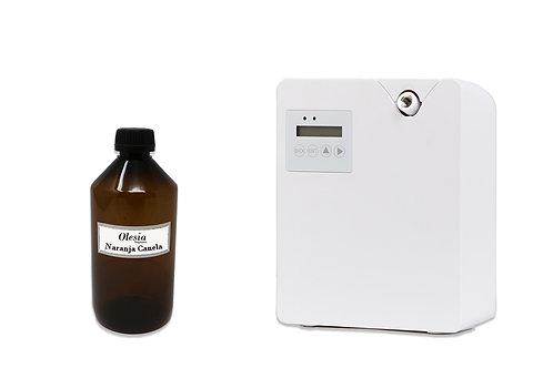 kit Difusor para nebulización + perfume Naranja Canela