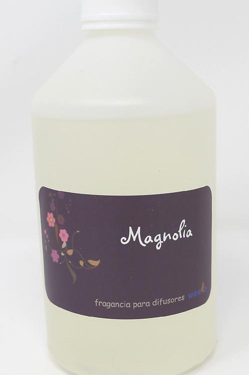 Recarga de ambientador Magnolia para Difusores de nebulizacion profesionales