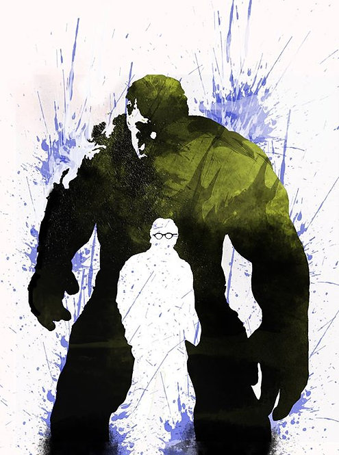 Hulk - Bruce Banner A3