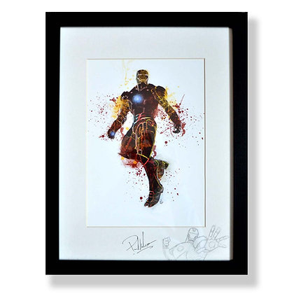 IRON MAN A4S&F WITH SKETCH