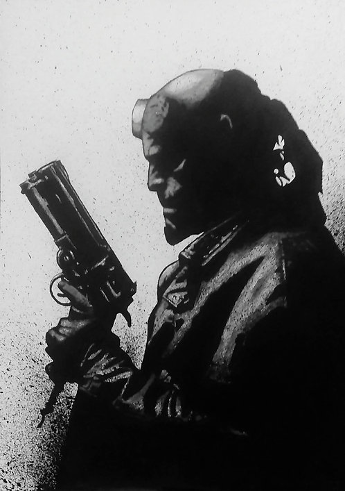Hellboy B&W