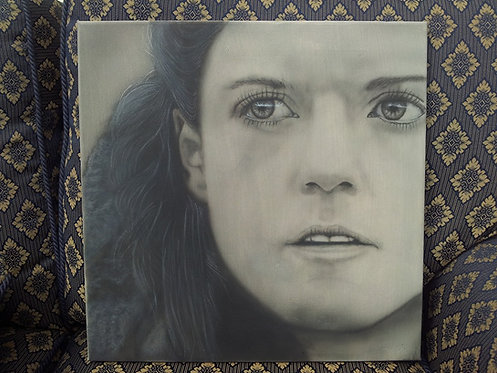 Ygritte -Airbrush - box canvas