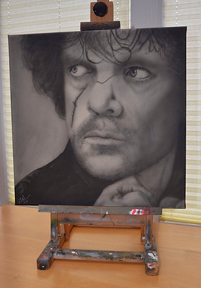 Tyrion - Airbrushed - box canvas