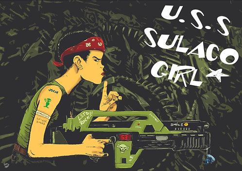 USS Sulaco Girl