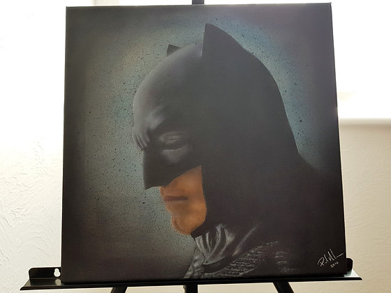 Batman - Airbrush boxed canvas